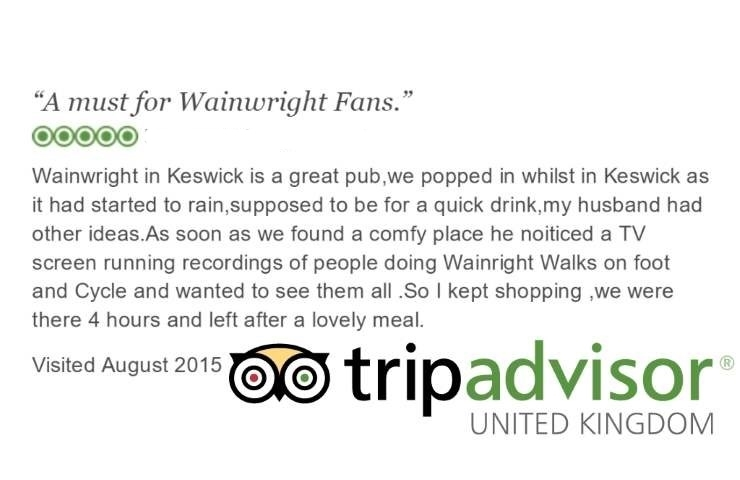 The Wainwright keswick: Trip Advisor Review 2